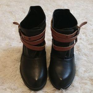 Qupid Half Boots
